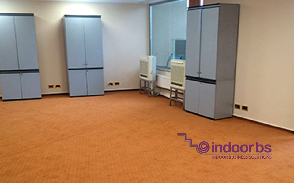 Montaj-mocheta-rola Indoor-Business-Solutions